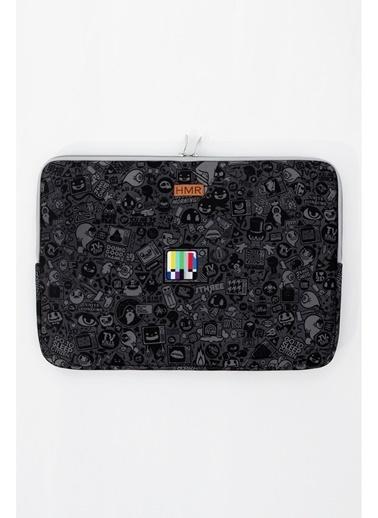 Hamur Easy Case 13 inç Laptop Çantası Notebook Kılıfı Craft New Siyah